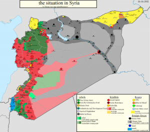 situation en Syrie oct.2015